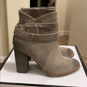 Nine West Bootie Mushroom Color sz 6.5